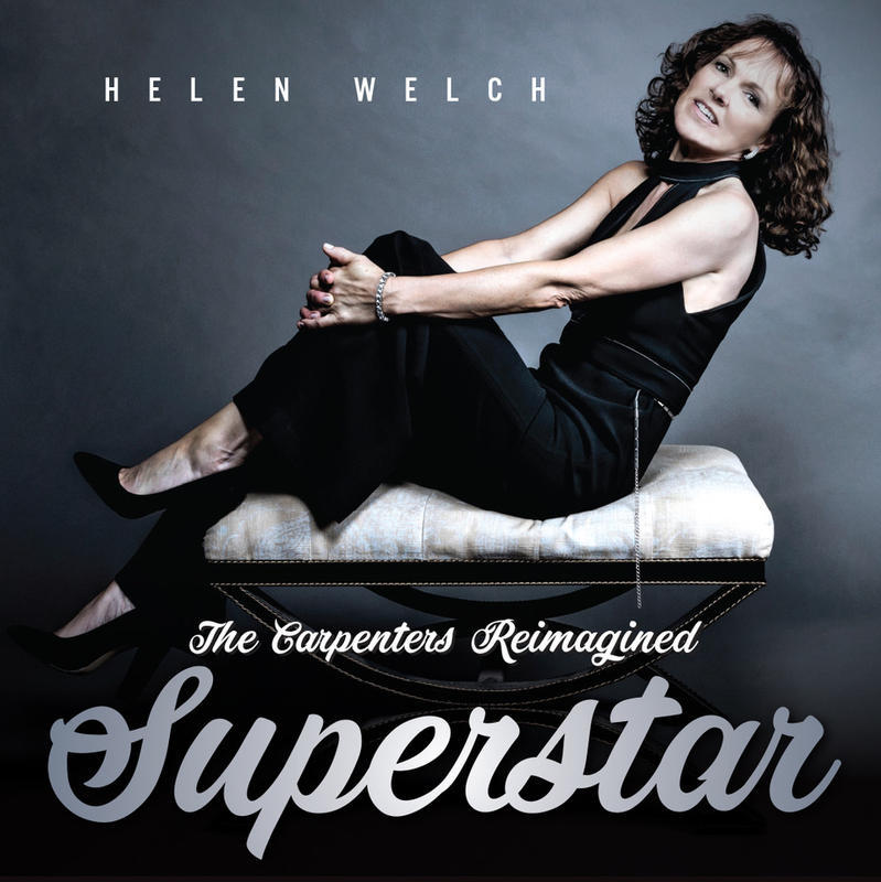 Helen Welch Superstar. Carpenters Reimagined Album Cover